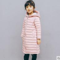 2017新品天纵中长款儿童棉外套TZ-1668 券后79元包邮(长期售价109元)