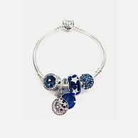 PANDORA 潘多拉 神秘蓝色925银串珠手链 1799元包邮包税
