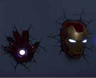 钢铁侠 3D 装饰墙灯 25.6美元约¥168