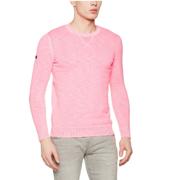2017年新款!Superdry 极度干燥 Garment 男士染色圆领针织衫 直邮到手约267元(天猫439元)
