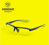 再降20!度数可定制 HINDAR赫德防蓝光眼镜 设计师护目镜 HDS008