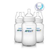 Prime会员:Philips AVENT 新安怡 经典宽口径防胀气奶瓶 330ml*3只