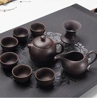 连连旺 紫砂功夫茶具 9件套