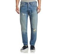 完美版型限32码!Levi's李维斯501做旧牛仔裤