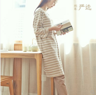 好評98.7%!網易嚴選  日式開襟月子服套裝