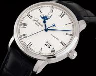 国内8W+!Glashütte 格拉苏蒂 Senator系列 100-04-32-12-04 男士机械腕表