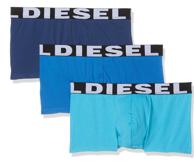Prime会员:Diesel 迪塞 男士弹力四角内裤*3条