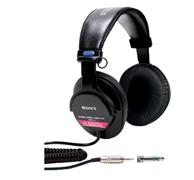Prime会员: SONY 索尼 MDR-V6 头戴式耳机