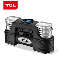TCL充气泵轮胎12v双缸车载打气泵