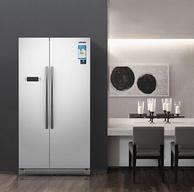 SAMSUNG三星 545L 大容量风冷无霜对开门冰箱 RS542NCAEWW/SC