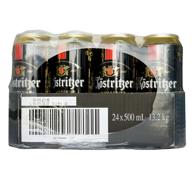 神价!德国 Kostritzer 卡力特 黑啤酒 500ml*24听 *2件