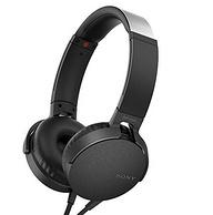 历史新低!SON 索尼 MDR-XB550AP 重低音立体声耳机