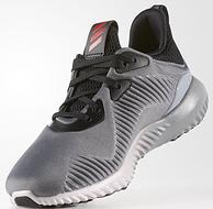 2双!Adidas 阿迪达斯 Alphabounce 大童款 运动跑鞋