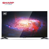 SHARP夏普LCD-40SF466A-BK 40英寸电视