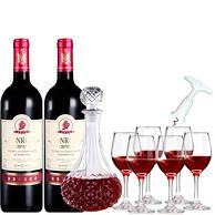 宾露 法国原瓶进口干红葡萄酒 750ml*2支