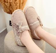 回力 情侣款 冬季包跟 棉拖鞋