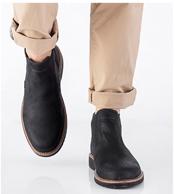 Prime会员:ECCO 爱步 Ian 伊恩系列 男士真皮切尔西短靴