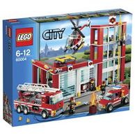 LEGO 乐高 城市组 消防总局 60004 499元(美亚74.6美元)
