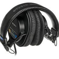 SONY 索尼 MDR-7506 封闭式 头戴式 监听耳机