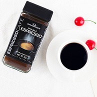 德国进口!GRANDOS 格兰特 经典速溶黑咖啡 50g*2瓶