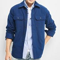 双11预售: 商场同款!GAP 盖璞 870760-1 男士加绒工装夹克
