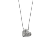 Prime会员:Swarovski 施华洛世奇 Alana 心型镶钻项链1121055