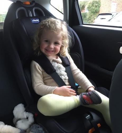 2016年新款,Chicco 智高 Gro-up 123 儿童安全座椅