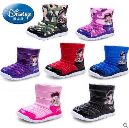 Disney 迪士尼 加绒加厚毛毛虫雪地靴 多色 49元包邮(79-30) 买手党-买手聚集的地方