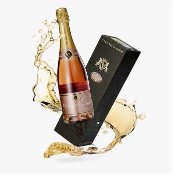 春节送礼,Petit Village小村庄城堡 乔治卡迪亚 桃红香槟 礼盒装 750ml 199元包邮(299-100) 买手党-买手聚集的地方