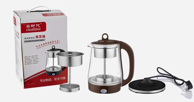 茶时代 QY-B22全自动保温蒸汽电煮茶壶 68元包邮 买手党-买手聚集的地方