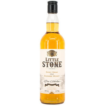 法国原装进口:LITTLE STONE微石 精选威士忌调和酒(配制酒)700ml 秒杀价19.9元 买手党-买手聚集的地方