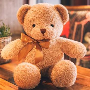 优美尚 时尚可爱卷毛泰迪熊玩具 35cm 5元券后后9.9元包邮 买手党-买手聚集的地方