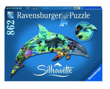 镇店之宝,Ravensburger睿思 海洋世界 异形拼图 862片 94元包邮 买手党-买手聚集的地方