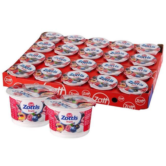 Zott 卓德 脱脂含乳饮品 森林水果/水蜜桃味 100g*20盒 50.25元(上次推荐价64元) 买手党-买手聚集的地方