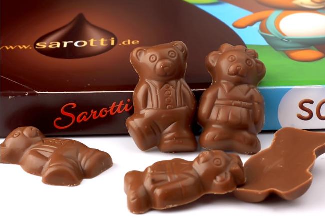 10点开始前1小时!德国进口,Sarotti萨洛缇 儿童小熊牛奶巧克力礼盒 39元包邮(折合13元/盒) 买手党-买手聚集的地方