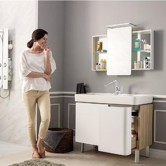 Prime会员:KOHLER 科勒 希尔维浴室柜 包含龙头和镜柜 5480.8元包邮(京东5704元) 买手党-买手聚集的地方
