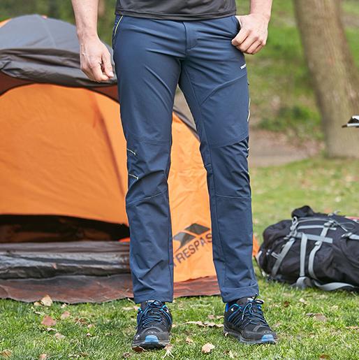 DWR科技面料!英国TRESPASS登山裤