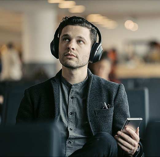 Sony索尼 MDR-1000X 无线降噪耳机 翻新版