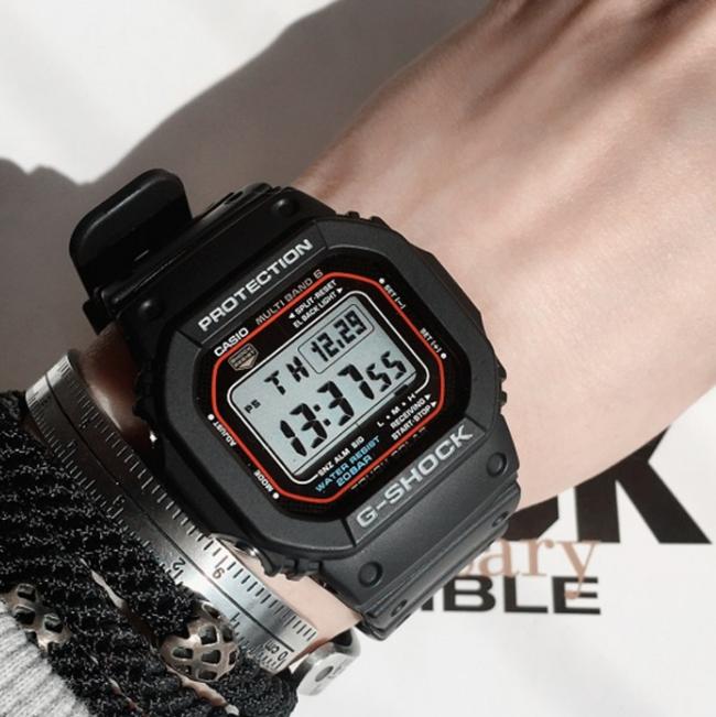 Casio 卡西欧 G-Shock 男款电波表 GWM5610-1 88美元约¥560 买手党-买手聚集的地方