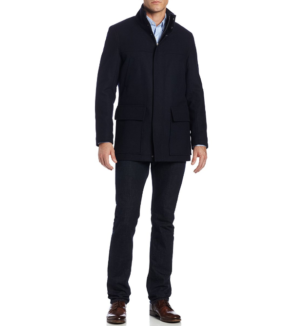 60%羊毛含量!历史新低,IZOD Stand Collar 男士外套 40.1美元约¥265 买手党-买手聚集的地方