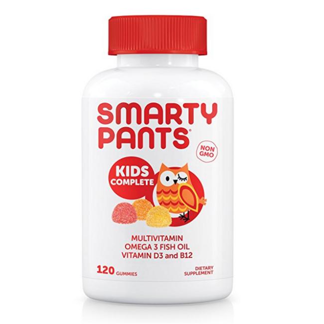 Prime会员:SmartyPants 儿童维生素软糖 120粒 凑单免费直邮含税到手约134元 买手党-买手聚集的地方