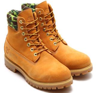 Timberland 天木兰×atmos 联名 6 INCH 男士工装靴 15200日元约¥883 可直邮 买手党-买手聚集的地方