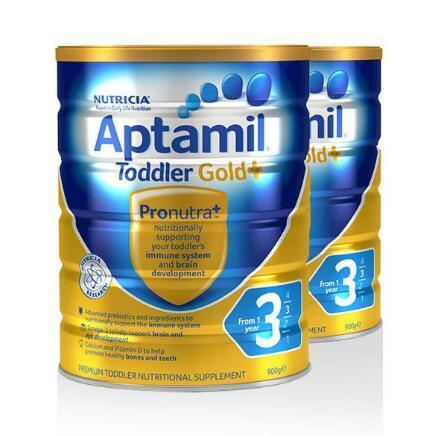 Aptamil 爱他美 金装 婴幼儿奶粉 3段 900g*2件 69.99澳元约¥350 买手党-买手聚集的地方