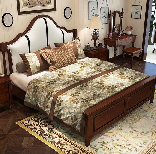 美天乐 实木床 框架款 1.8*2m 1799元 买手党-买手聚集的地方