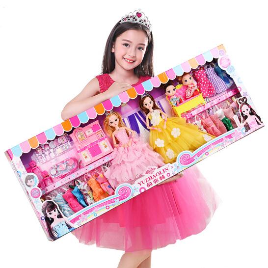 不到百元的梦想!俞兆林 芭比娃娃换装90cm超大礼盒 89元包邮送113件套礼物 买手党-买手聚集的地方