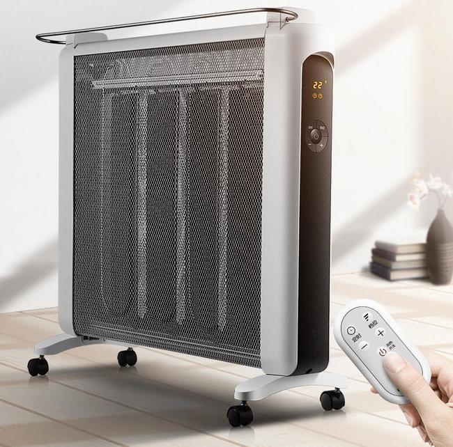 调温+遥控+速热!格力 2018新品 硅晶电暖气  NDYN-X6021B 299元包邮(京东399元) 买手党-买手聚集的地方