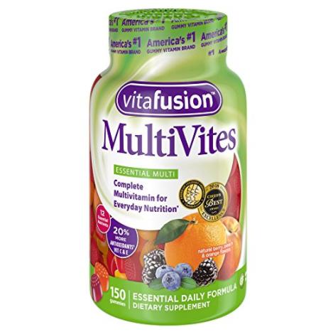 Vitafusion Multi-vite 小熊成人维生素软糖 150粒 prime会员凑单直邮含税到手约72元 买手党-买手聚集的地方