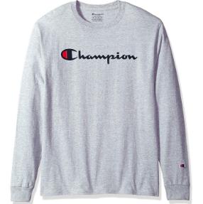 美亞湊單品:Champion 冠軍 男士 100%純棉 長袖T恤 12.5美元約¥86 買手黨-買手聚集的地方