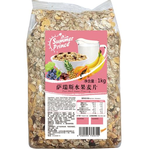新西蘭原裝進口,Summer prince 薩瑞斯 水果麥片 1kg 39.8元 可滿99-50元 買手黨-買手聚集的地方