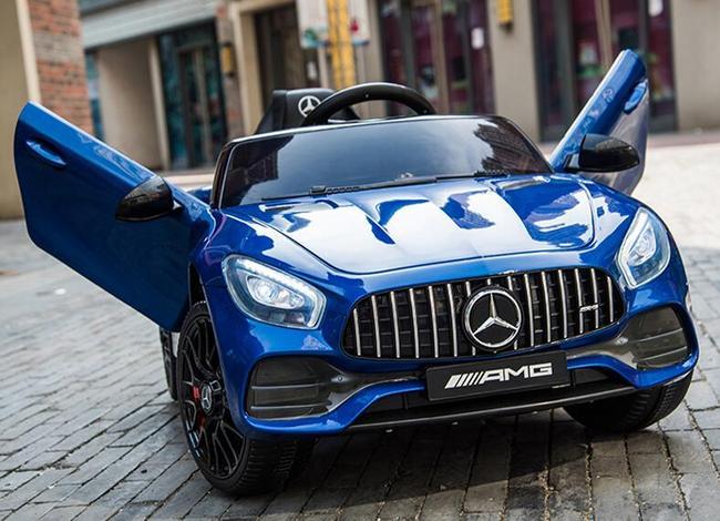 人生第一台豪车!奔驰、奥迪授权!福儿宝 梅赛德斯-AMG GT 儿童电动汽车 359元包邮(上次推荐398元) 买手党-买手聚集的地方